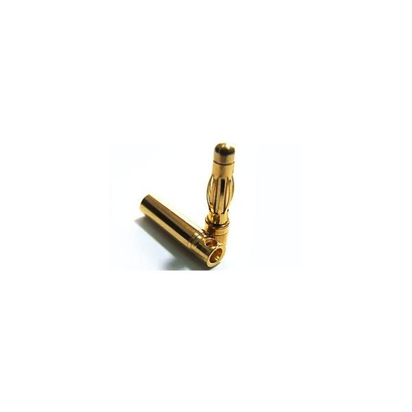 4 mm oro conector
