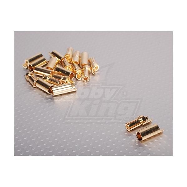 5,5mm conector oro Polymax