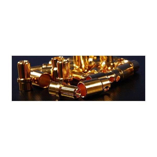 8mm oro conector