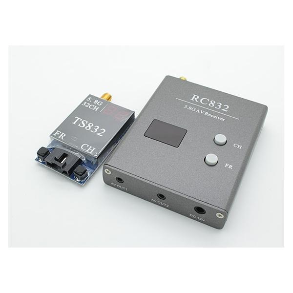 Boscam 5.8g 600mw 32CH FPV Wirless AV Tx & Rx Set TS832 and RC832