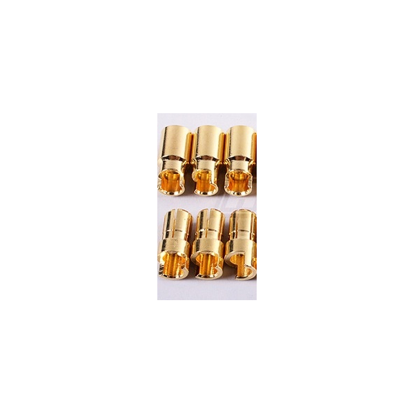 6mm oro conector