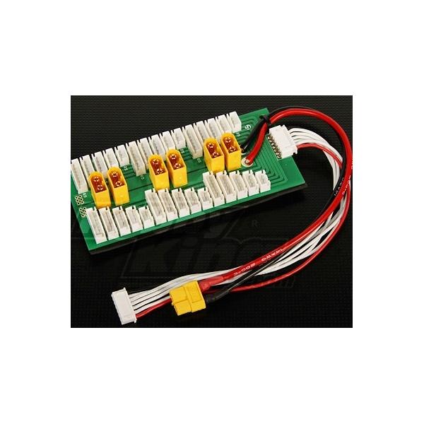 Conector LIPO paralelo 2~6s 30A Max