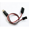 GoPro 3 Cable A/V + 5V entrada Corriente a Tx ImmersionRC [