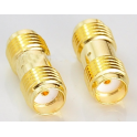Adaptador SMA Female To Female Straight RF connector Adapter