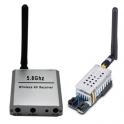 Transmisor video 5.8GHz 2000mW y receptor TX RX conjunto