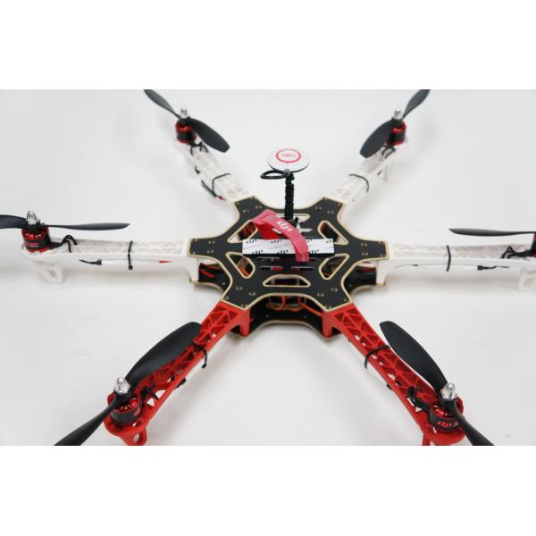 550 DIJ Kit Hexa completo + Naza M V.2 + GPS + Tren de Aterrizaje