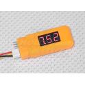Lipo voltaje indicador Max. 6S