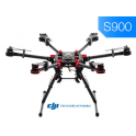 DJI S900 + A2 + Z15 + IOSd Mark II + 2,4 G/bt data link