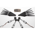E300 (4xmotor/ES - 4 pair props -Accessories pack)