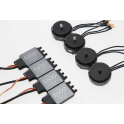 E600 (4xmotor/ESC- 4 pair props-Accessories pack)