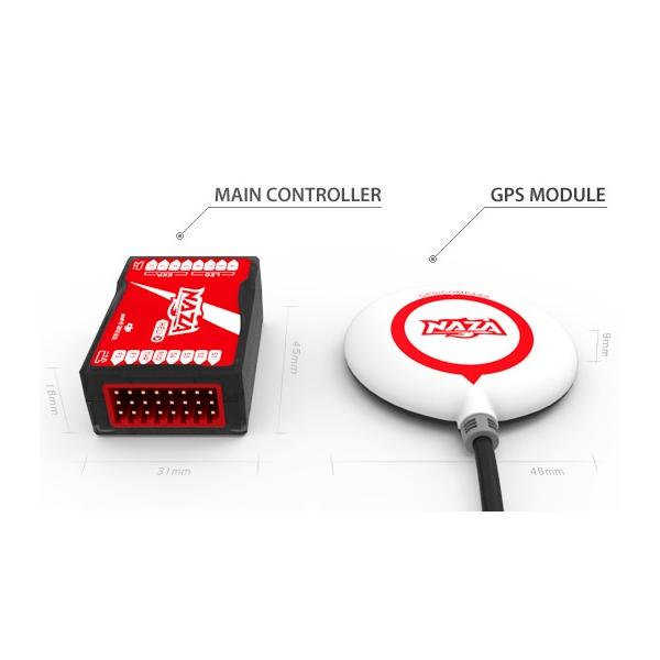 Dji NAZA H + GPS + BEC Pack, estabilizador HELICOPTERO