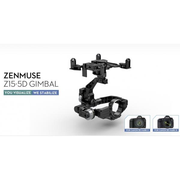 Zenmuse Z15-5D para Canon 5D MarkIII. DJI Gimbal Z15 M3