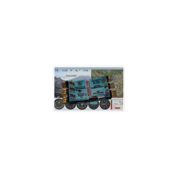 IKARUS OSD Pack: GPS 10Hz, Sensor de Corriente