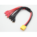 Conector BEC-alimentación 3,5mm X4 220mm