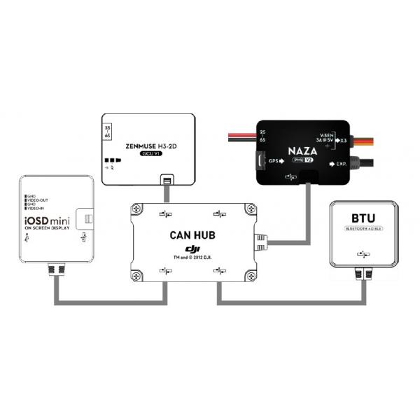 dji naza m v 2 estabilizador multicopteros scalabitoleo rh scalabitoleo com Wiring Diagram Symbols Wiring Diagram Symbols