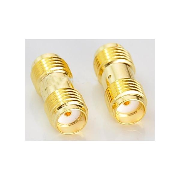 Adaptador SMA Female To Female Straight RF connector Adapter
